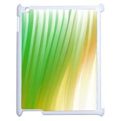 Folded Digitally Painted Abstract Paint Background Texture Apple Ipad 2 Case (white) by Simbadda