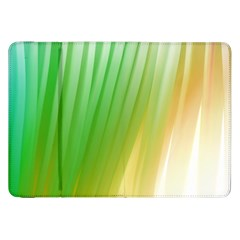 Folded Digitally Painted Abstract Paint Background Texture Samsung Galaxy Tab 8.9  P7300 Flip Case by Simbadda