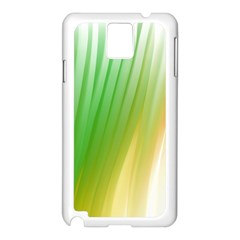 Folded Digitally Painted Abstract Paint Background Texture Samsung Galaxy Note 3 N9005 Case (white) by Simbadda