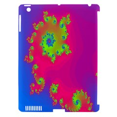 Digital Fractal Spiral Apple Ipad 3/4 Hardshell Case (compatible With Smart Cover) by Simbadda