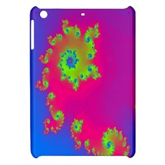 Digital Fractal Spiral Apple Ipad Mini Hardshell Case by Simbadda