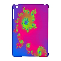 Digital Fractal Spiral Apple Ipad Mini Hardshell Case (compatible With Smart Cover) by Simbadda