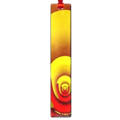 Red Gold Fractal Hypocycloid Large Book Marks by Simbadda
