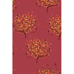 Beautiful Tree Background Pattern 5 5  X 8 5  Notebooks by Simbadda