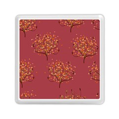 Beautiful Tree Background Pattern Memory Card Reader (square)  by Simbadda