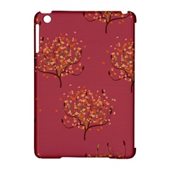 Beautiful Tree Background Pattern Apple Ipad Mini Hardshell Case (compatible With Smart Cover) by Simbadda