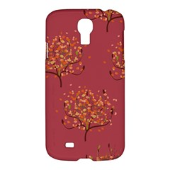 Beautiful Tree Background Pattern Samsung Galaxy S4 I9500/i9505 Hardshell Case by Simbadda