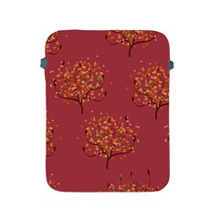 Beautiful Tree Background Pattern Apple Ipad 2/3/4 Protective Soft Cases by Simbadda