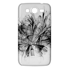 High Detailed Resembling A Flower Fractalblack Flower Samsung Galaxy Mega 5 8 I9152 Hardshell Case  by Simbadda