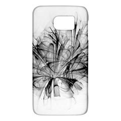 High Detailed Resembling A Flower Fractalblack Flower Galaxy S6