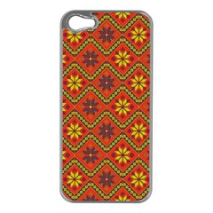 Folklore Apple Iphone 5 Case (silver) by Valentinaart