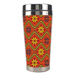 Folklore Stainless Steel Travel Tumblers by Valentinaart