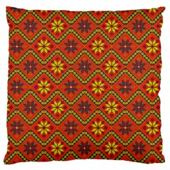 Folklore Standard Flano Cushion Case (one Side) by Valentinaart