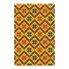 Folklore Shower Curtain 48  X 72  (small)  by Valentinaart