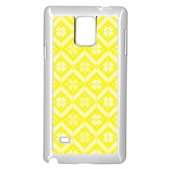 Folklore Samsung Galaxy Note 4 Case (white) by Valentinaart