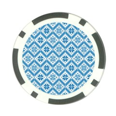 Folklore Poker Chip Card Guard by Valentinaart