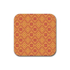 Folklore Rubber Coaster (square)  by Valentinaart