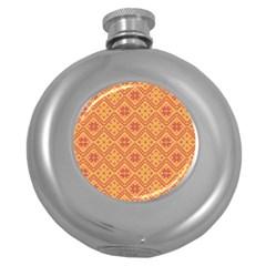 Folklore Round Hip Flask (5 Oz) by Valentinaart