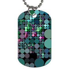 Color Party 03 Dog Tag (two Sides) by MoreColorsinLife