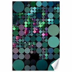 Color Party 03 Canvas 12  X 18   by MoreColorsinLife