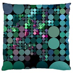 Color Party 03 Large Flano Cushion Case (one Side) by MoreColorsinLife