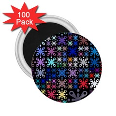 Color Party 01 2 25  Magnets (100 Pack)  by MoreColorsinLife