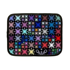 Color Party 01 Netbook Case (small)  by MoreColorsinLife