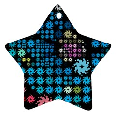 Color Party 02 Ornament (star) by MoreColorsinLife