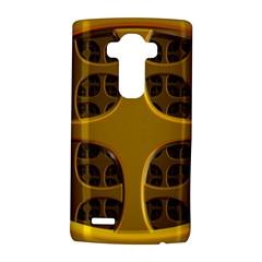 Golden Fractal Window Lg G4 Hardshell Case by Simbadda