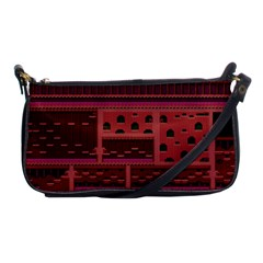 Blaster Master Shoulder Clutch Bags by Alisyart