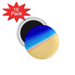 Beach Sea Water Waves Sand 1 75  Magnets (10 Pack)  by Alisyart