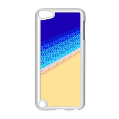 Beach Sea Water Waves Sand Apple Ipod Touch 5 Case (white) by Alisyart