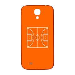 Basketball Court Orange Sport Orange Line Samsung Galaxy S4 I9500/i9505  Hardshell Back Case by Alisyart