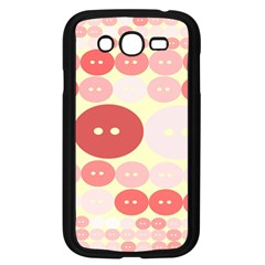 Buttons Pink Red Circle Scrapboo Samsung Galaxy Grand Duos I9082 Case (black) by Alisyart