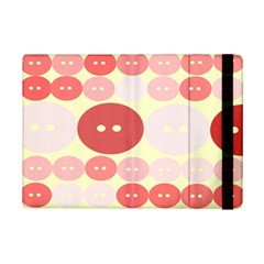 Buttons Pink Red Circle Scrapboo Ipad Mini 2 Flip Cases by Alisyart