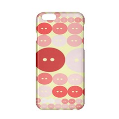 Buttons Pink Red Circle Scrapboo Apple Iphone 6/6s Hardshell Case by Alisyart