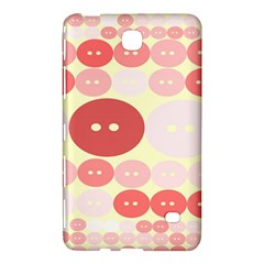 Buttons Pink Red Circle Scrapboo Samsung Galaxy Tab 4 (8 ) Hardshell Case  by Alisyart