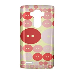 Buttons Pink Red Circle Scrapboo Lg G4 Hardshell Case by Alisyart