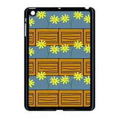 Yellow Flower Floral Sunflower Apple Ipad Mini Case (black) by Alisyart