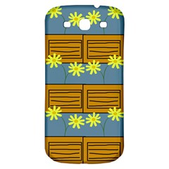 Yellow Flower Floral Sunflower Samsung Galaxy S3 S Iii Classic Hardshell Back Case by Alisyart