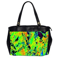 Bow Canopy Height Satelite Map Office Handbags (2 Sides)  by Alisyart