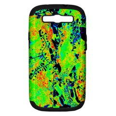 Bow Canopy Height Satelite Map Samsung Galaxy S Iii Hardshell Case (pc+silicone) by Alisyart