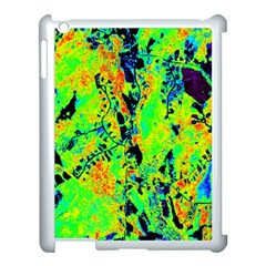 Bow Canopy Height Satelite Map Apple Ipad 3/4 Case (white) by Alisyart