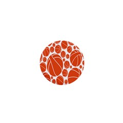 Basketball Ball Orange Sport 1  Mini Buttons by Alisyart