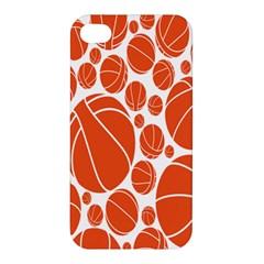 Basketball Ball Orange Sport Apple Iphone 4/4s Hardshell Case by Alisyart