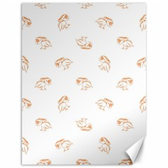 Birds Sketch Pattern Canvas 12  X 16   by dflcprints