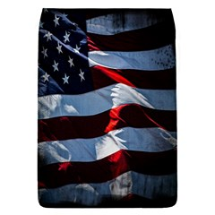 Grunge American Flag Background Flap Covers (s)  by Simbadda