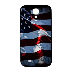 Grunge American Flag Background Samsung Galaxy S4 I9500/i9505  Hardshell Back Case by Simbadda