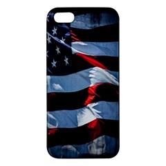 Grunge American Flag Background Iphone 5s/ Se Premium Hardshell Case by Simbadda
