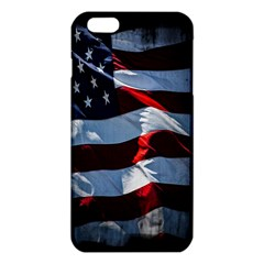 Grunge American Flag Background Iphone 6 Plus/6s Plus Tpu Case by Simbadda